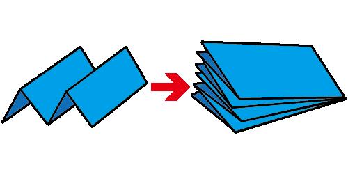 彈簧3摺+對摺DM