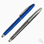 廣告亮彩雷雕中性觸控筆印刷-優聯廣告筆工廠